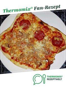 Weltbester Pizzateig von Torrenga. Ein Thermomix ® Rezept aus der Kategorie Grundrezepte auf www.rezeptwelt.de, der Thermomix ® Community.