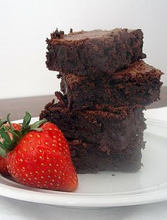 I hate making things from a box, I much prefer homemade, but this chick is right, boxed brownies always seem to be better than any scratch recipe. I can't wait to try this and see if it really is better
