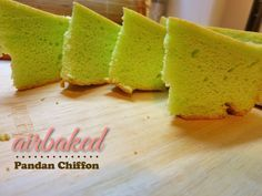 Who would have thought baking a chiffon cake can be this simple in an Airfryer.