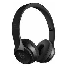 Beats by Dr. Dre Beats Solo3 Wireless Headphones Black MNEN2LL/A -... ($300) ❤ liked on Polyvore featuring accessories, other accessories and beats by dr. dre