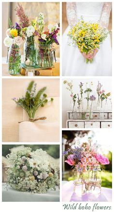Create & Style A Bohemian Wedding: Wedding Advice - Want That Wedding ~ A UK Wedding Inspiration & Wedding Ideas Blog