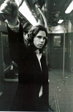 Jim Morrison.. one of a handful of men the world has ever known to be able to wear leather trousers