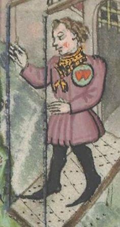 « Le Champion des Dames, » par « MARTIN LE FRANC, prevost de l'église de Lausane. » (1440).  Date d'édition :  1401-1500  Français 12476  Folio 4v