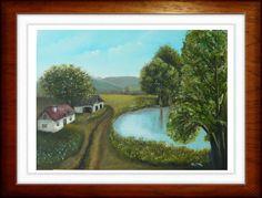 Spring - created by:  Szöllős Éva - oil, 30x40 cm canvas (original: Kinva video)