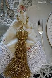 Related image Napkin Rings, Tassel Necklace, Macrame, Tassels, Napkins, Casa Clean, Party, Image, Copper