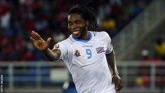 Dieumerci Mbokani: DR Congo striker recalled for crucial Afcon qualifier - BBC Sport Yannick Bolasie, Nations Cup, Hull City, International Football, World Football, Fulham, Everton, Goalkeeper, Congo