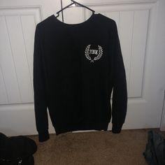 VS PINK CREST CREW PULLOVER worn a few times. Super soft and no flaws! PINK Victoria's Secret Tops Sweatshirts & Hoodies