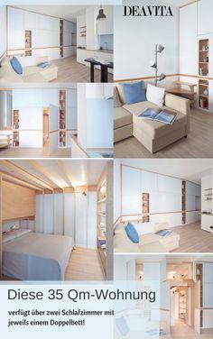 Die Typische #Architektur Im Bootsausbau Diente Den Architekten Als  Inspiration Für Die Innengestaltung Der 35 Qm #Wohnung.