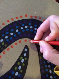 The Lost Sock : Aboriginal Dot Animals 3rd Grade Art Lesson, 6th Grade Art, Classroom Art Projects, Art Classroom, Middle School Art, Art School, Disney Art Drawings, Animal Art Projects, Art Lessons Elementary