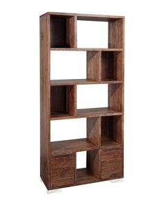 Austin Shelf Unit, an ideal space for books, ornaments or to display photos. #interiordesign #home #homedecor #interior123 #wood