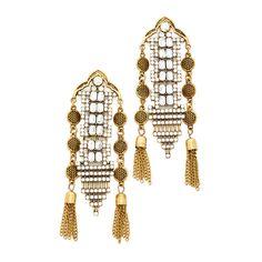 Shashi Stella Earrings (2.885 RUB) ❤ liked on Polyvore featuring jewelry, earrings, gold, shashi, 18k jewelry, earring jewelry, statement earrings and 18k earrings