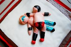 picturing_food: wwe wrestling cake Wrestling Cake, Wrestling Party, Wwe Cake, 8th Birthday, Birthday Cakes, Ninja Turtle Party, Fondant Toppers, Birthday Cake Decorating