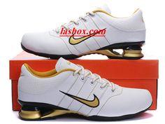 wholesale dealer d1e61 d6083 chaussures nike shox r2 homme blanc or noir