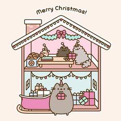 "40.8k Likes, 310 Comments - Pusheen (@pusheen) on Instagram: ""Merry Christmas! """
