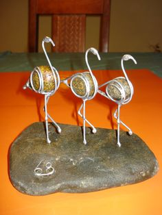 Wire Crafts, Metal Crafts, River Rock Crafts, Metal Yard Art, Steel Art, Junk Art, Wood Wall Decor, Beads And Wire, Wire Art