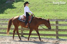 Young Rider - WESTERN PLEASURE TIPS Show the judges that your horse is a pleasure to ride!