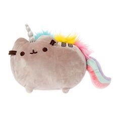 "<P>Get this unique unicorn Pusheen plush toy. Feature Pusheen classic pose with rainbow mane and sparkly white horn. </P><P><BR><B>Pusheen Plush Toy</B> By <B>Gund</B></P><UL><LI>Unicorn Pusheen <LI>Hand washable <LI>13"" x 8 1/2""</LI></UL>"