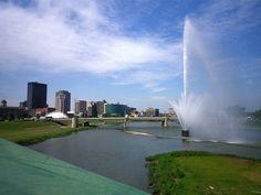 RiverScape MetroPark - Miami River / Dayton, Ohio by steveartist, via Flickr