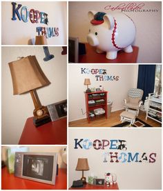 Baseball Nursery Themed Rooms Piggy Banks Baby Boys Fever Future Ideas Room Leo