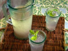 Chia Limeade recipe from Marcela Valladolid via Food Network