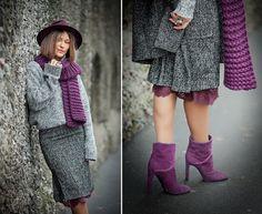 wool pencil skirt on GalantGirl.com