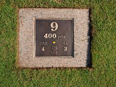 golf course signage - Google Search
