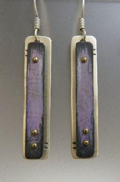 earrings by Deb Karash