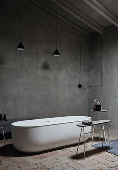 Norm Architects Prime bathroom collection for Spanish company Inbani. This bathroom collection is for the minimalist and those who love clean lines. Industrial Bathroom, Modern Bathroom, Minimalist Bathroom, Modern Minimalist, Loft, Bathroom Collections, Room Interior Design, Beautiful Bathrooms, Bathroom Furniture