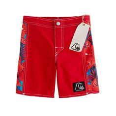 Boys' Quiksilver® for J.Crew trunks in Quiksilver country print