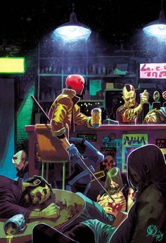 Red Hood and the Outlaws #6 - Matteo Scalera
