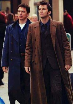 Image result for 10th doctor and Jack Harkness