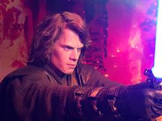 Anakin Skywalker on Mustafar from Star Wars Episode III: Revenge of the Sith - Madame Tussaud's (London)
