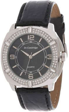 Mashreqworld : De Cambridge Unisex Casual Watch Leather Strap - DC1411-4 price, review and buy in UAE, Dubai, Abu Dhabi | Souq.com