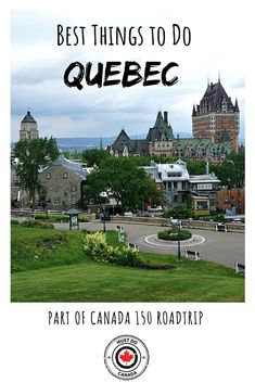 During our Canada road trip, we visited Quebec to experience some of the best things to do in the province. From Montreal to Quebec City to Mont Tremblant, this Backpacking Canada, Canada Travel, Canada Trip, Amazing Destinations, Travel Destinations, Places To Travel, Places To See, Stuff To Do, Lugares