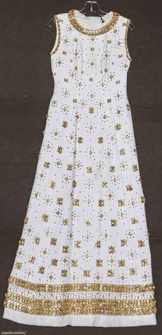 Balmain Couture Evening Gown C. 1960
