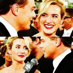 Kate Winslet and Leonardo DiCaprio Photo: K&L Leonardo Dicarpio, Leonardo And Kate, Kate Winslet And Leonardo, Leonardo Dicaprio Kate Winslet, Leonardo Dicaprio Married, Young Leonardo Dicaprio, Titanic, Leo And Kate, Most Beautiful People