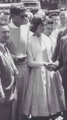 Jackie Kennedy's first time meeting Massachusetts legislature