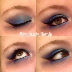 Make-Up | Beauty | blau lila