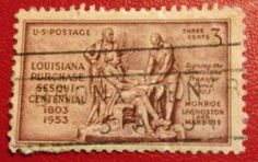 Louisiana Purchase Sesquicentennial 1803 1953 stamp