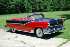 ◆1956 Ford Fairlane Sunliner◆.. Re-pin Brought to you by  #HouseofInsurance in #EugeneOregon for #LowCostInsurance