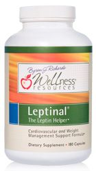 Leptinal nutritional supplement for weight management and cardiovascular support.