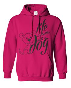 Better With A Dog Tshirt & Hoodie | DonaShirts.com - Dare To Be Tshirts, Hoodies And Custom