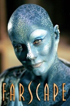 Pa'u Zotoh Zhaan, played by Virginia Hey, is a Delvian, a blue, spiritual, humanoid plant species, and a Pa'u (priestess) in their religious order. Zhaan was imprisoned aboard Moya for the assassination of the leader of the Delvian government and her lover, Bitaal.