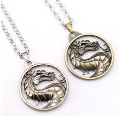 Cheap mortal kombat necklace, Buy Quality necklace friendship directly from China pendant necklace Suppliers: MS Jewelry Mortal Kombat Necklace Gragon Pendant Necklace Friendship Men Women Game Choker Accessories Mortal Kombat, Dragon Pendant, Pocket Watch, Chokers, Pendant Necklace, Personalized Items, Stuff To Buy, Necklaces, Gaming