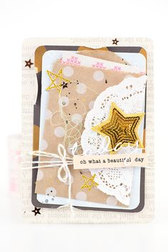mojosanti : Oh what a beautiful day... I Eine Karte mit dem Ohdeerme Dezember-Kit I Card for Freckled Fawn