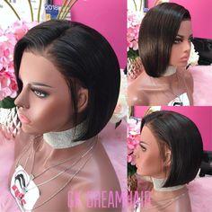 GK LUX WIG 1164 – GK Dreamhair Durban South Africa, Wig Cap, Wigs, Short Hair Styles, Unique, Bob Styles, Short Hair Cuts, Short Hairstyles, Lace Front Wigs
