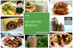 Top 20 low carb breakfasts from around the best low carb blogs. Take a look and leave a comment on the website for your favourite low carb breakfast.  | ditchthecarbs.com