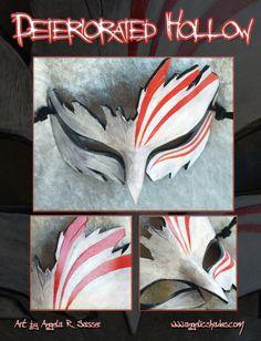 "Ichigo's ""Hollow"" mask in a more compact design...perfect for a ball!"
