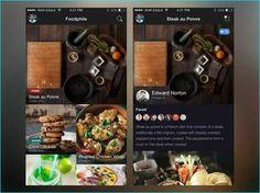 25 Inspiring Recipe APP UI design