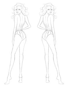 draw+croquis | The gallery for --> Flat Croquis
